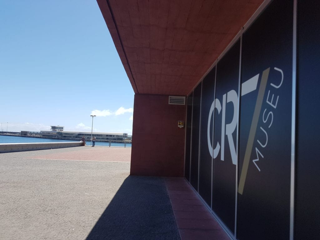 Muzeum Cristiano Ronaldo w Funchal na Maderze