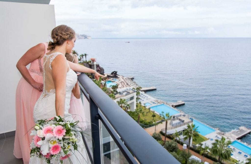 Spectacular ocean view venue in Madeira, Portugal ~ Slub na Maderze; idealne miejsce na ślub w plenerze i ślub z widokiem na ocean