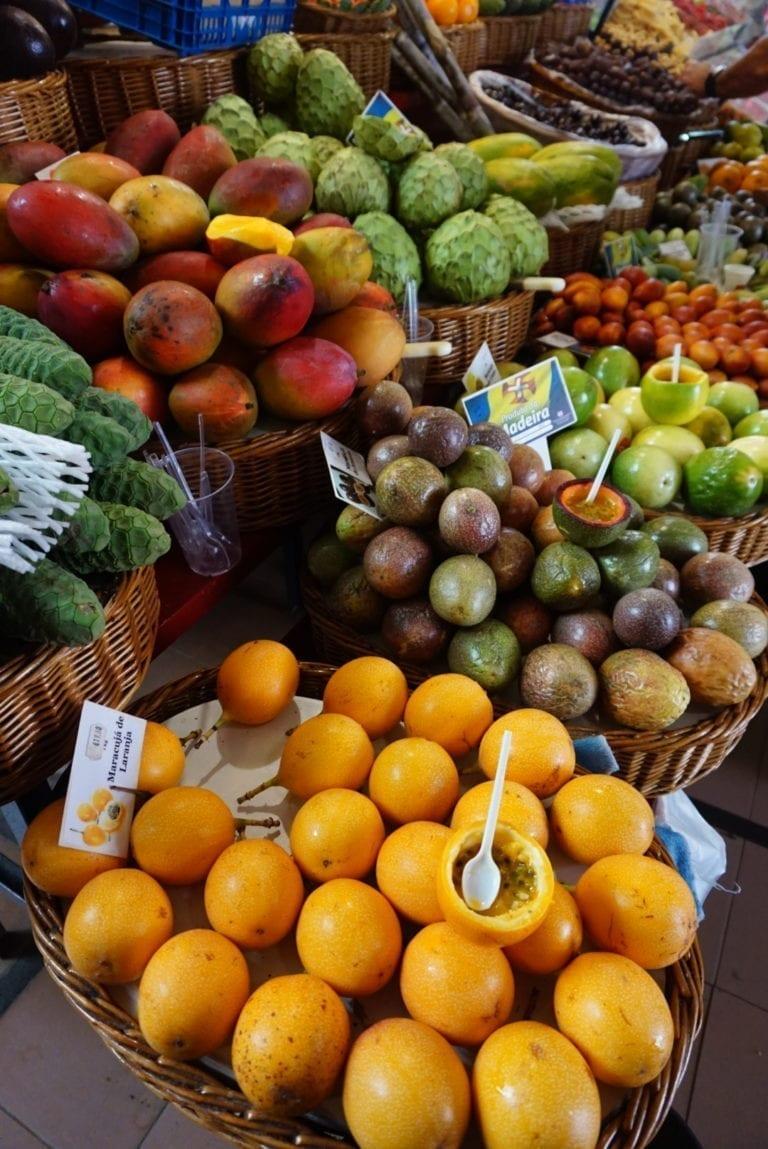 Mercado dos Lavradores (Farmers' Market) na Maderze