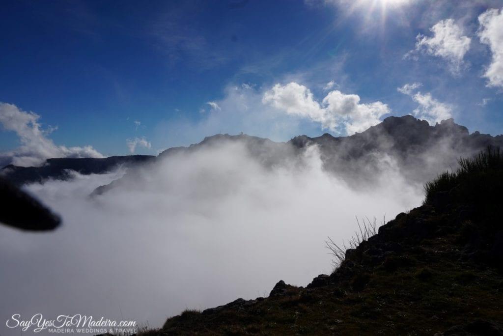 Madeira Island: PR1 route - Pico do Arieiro - Pico Ruivo - Achada do Teixera