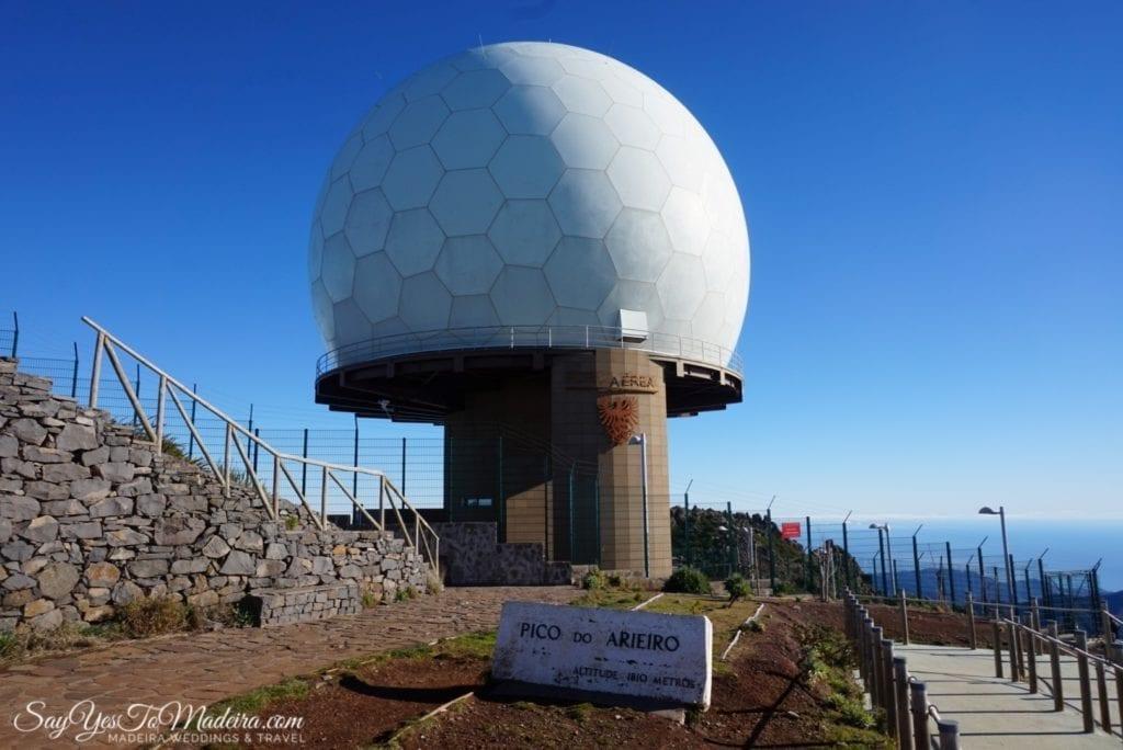 Best attractions Madeira: Pico do Arieiro
