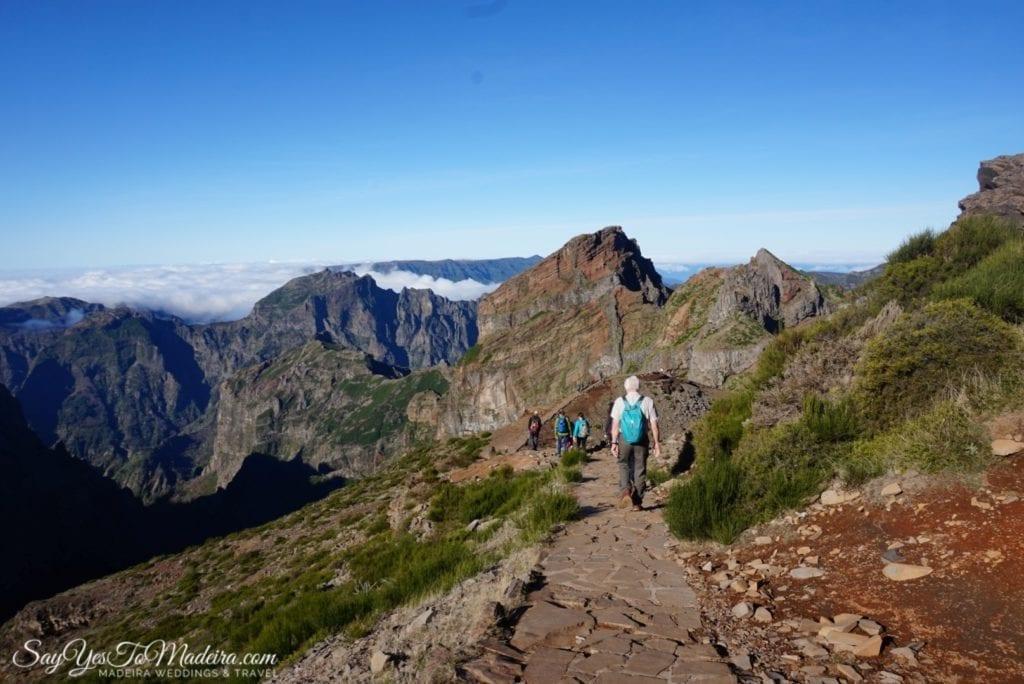 Hiking in Madeira Island, Portugal - PR1