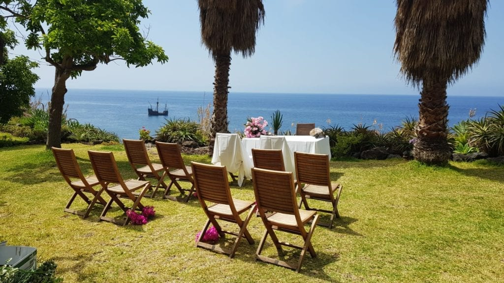 Unique wedding venues Europe: Getting married in a secluded area of Madeira, Portugal