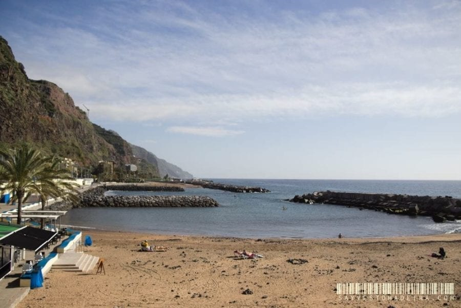 Swimming and sunbathing on Madeira: Sandy beaches in Madeira, Portugal. Hotels close to sandy beaches Madeira