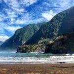 Plaże na Maderze: Plaża w Seixal