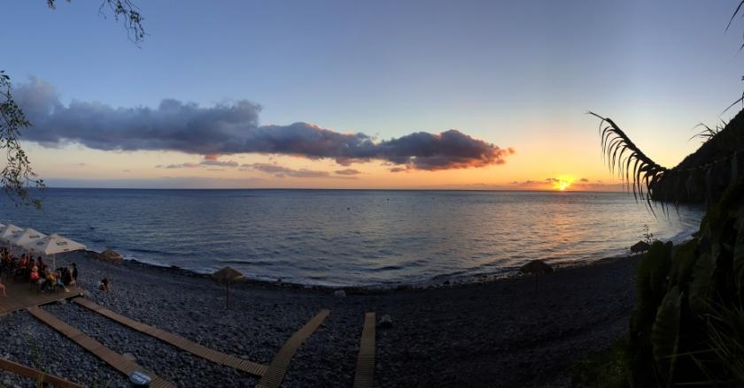 Anjos Beach, Madeira, Portugal - Where to swim in Madeira. Sunset sports Madeira