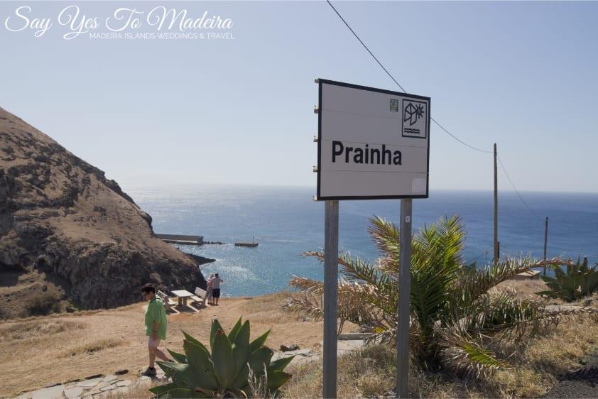 Best Madeira Island beaches - Prainha beach. Madeira Island travel guide Say Yes To Madeira