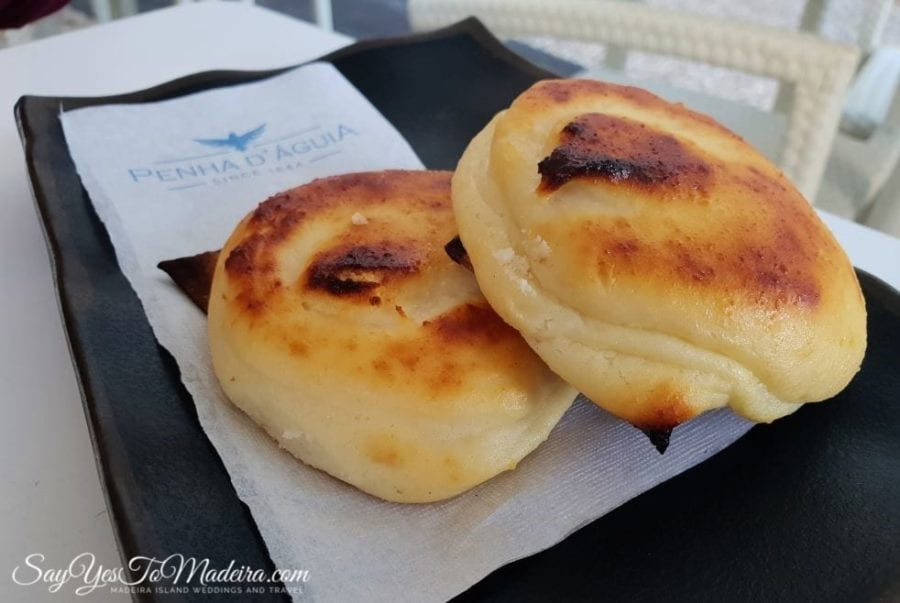Portuguese pastry - Queijadas in Madeira Island