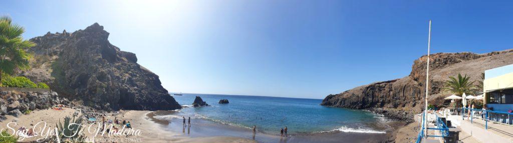Best beaches in Madeira - Prainha Beach - Praia da Parinha