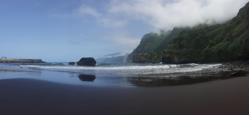Best beaches in Portugal - Seixal, Madeira - Dark sand beaches Madeira