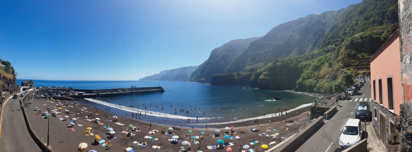 Best beaches in Europe - Seixal, Madeira, Portugal - Where to swim in Madeira