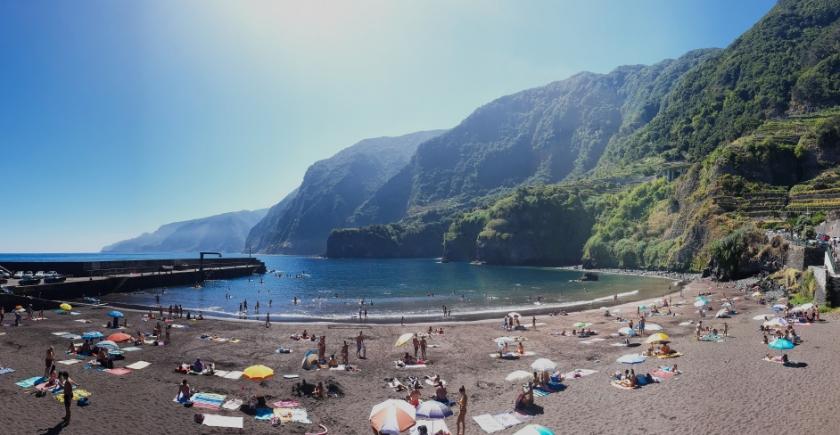 Seixal beach Madeira - Best beaches in Madeira Island