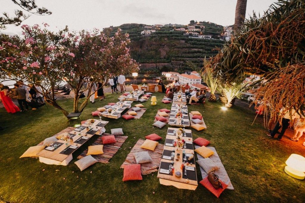 Boho huwelijk - Trouwen in Portugal -huwelijk in het buitenland - bestemming bruiloft op Madeira - trouwfotoshoot op Madeira