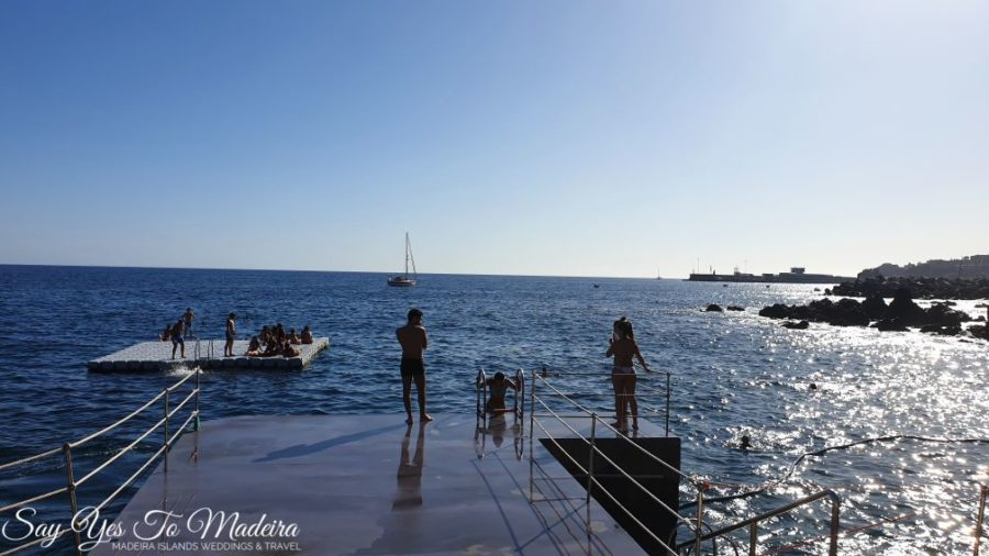 Natural pools Madeira. Bathing complexes Madeira & Madeira water park