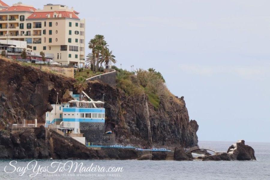 Kapieliska i baseny na Maderze: Doca de Cavacas w Funchal