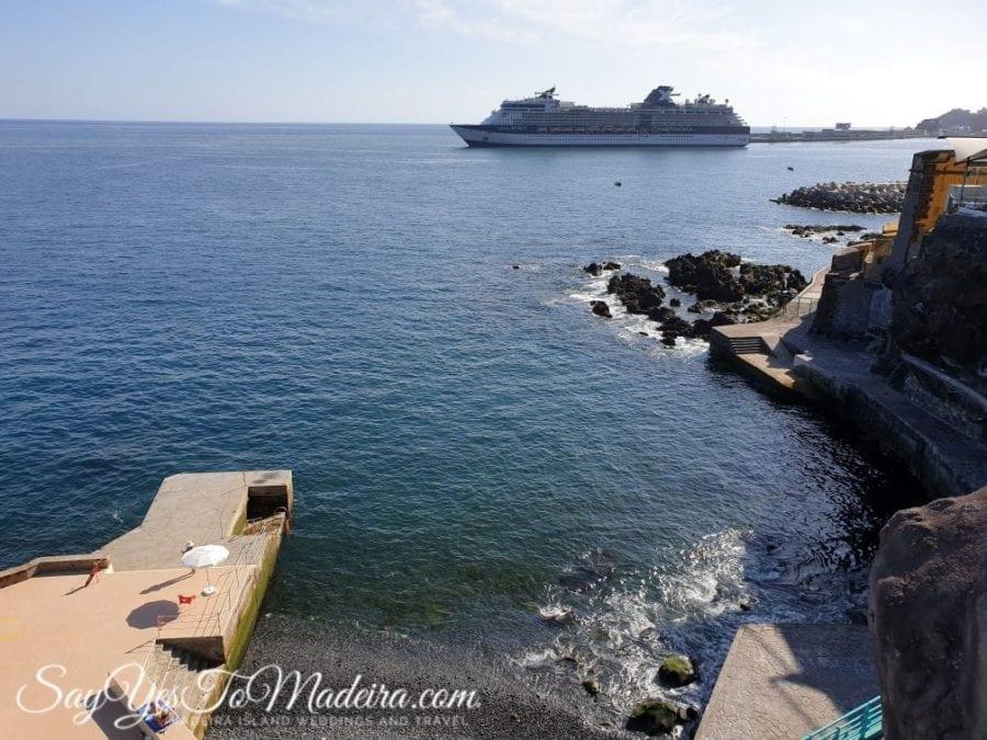 Kapieliska i baseny w Funchal na Maderze. Gdzie pływać na Maderze.