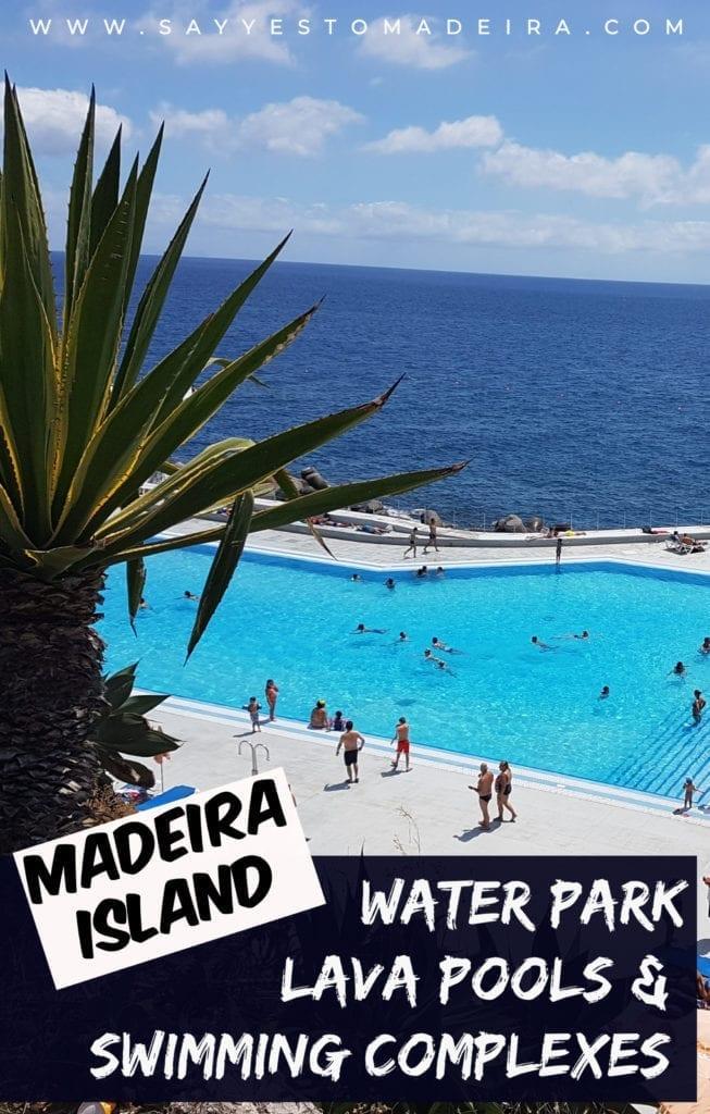 Gdzie kąpać się na Maderze - kompleksy kąpielowe, baseny wulkaniczne, surfowanie i bar dla surferów na Maderze