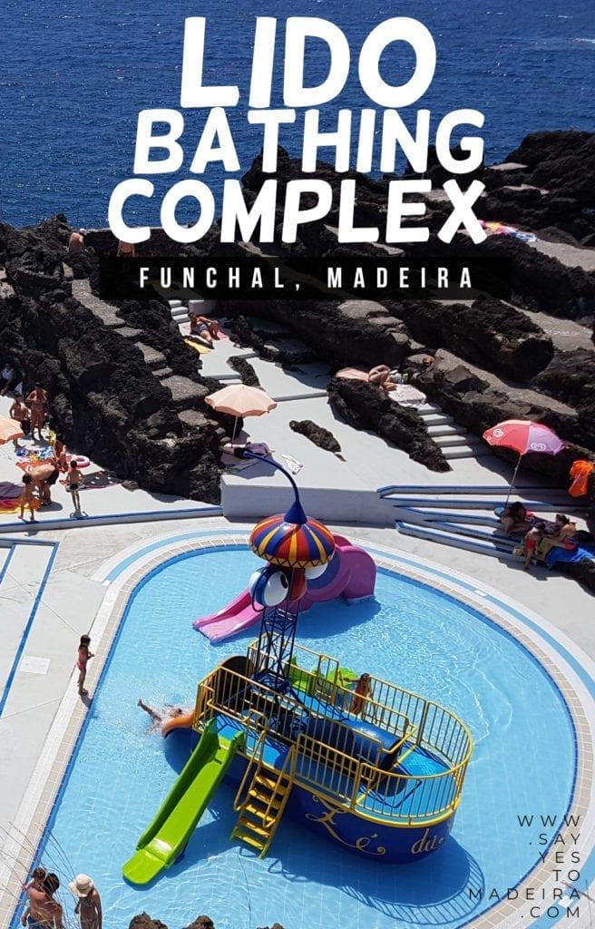 Gdzie kąpać się na Maderze - kompleksy kąpielowe, baseny wulkaniczne w Porto Moniz, Seixal, Doca de Cavacas, surfowanie i bar dla surferów na Maderze.