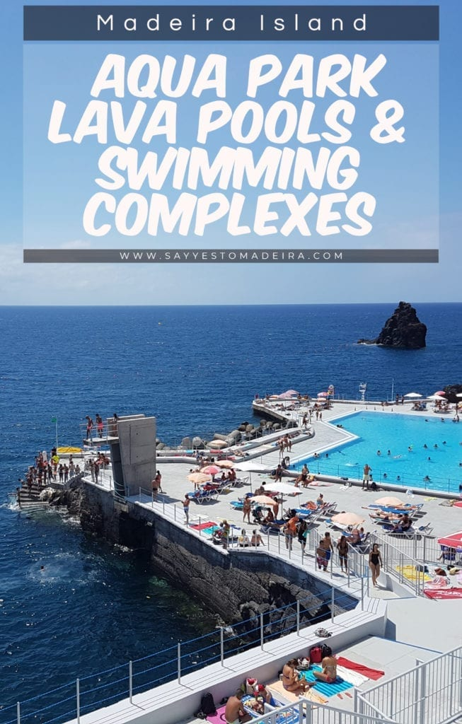 Swimming in Madeira: Volcanic Lava Pools in Madeira / Swimming Complexes in Madeira / Aqua park in Madeira