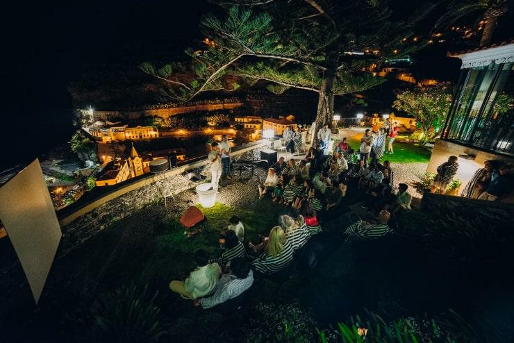 Ślub w stylu boho - dekoracje sali. Ślub w stylu hippie/boho w Portugalii