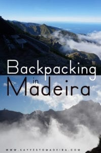 Madeira on a budget: Backpacking in Madeira. Hitchhiking in Madeira. Free campsites in Madeira #madeira #portugal