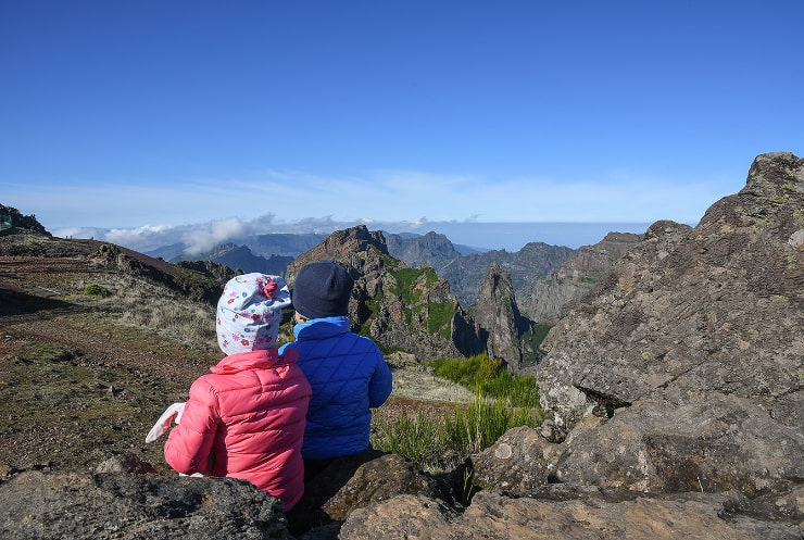 Madeira with small kids. Family trip to Madeira