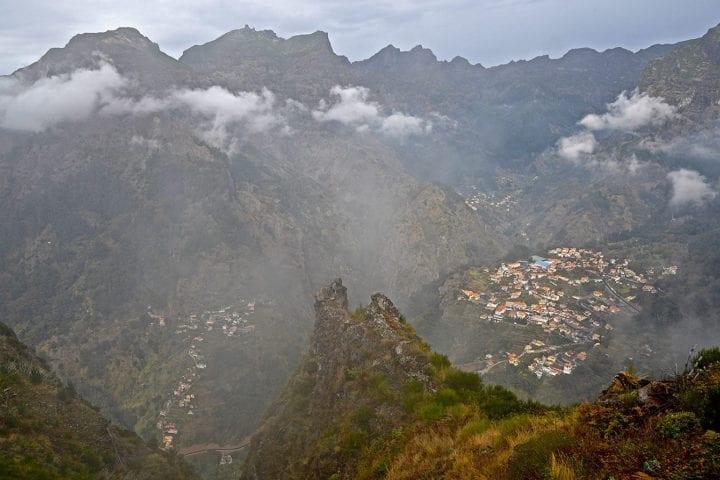 Dolina Zakonnic na Maderze - Curral das Freiras - Nuns Valley, Madeira