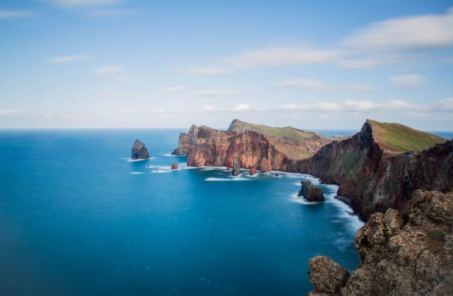 Ponta de Sao Lourenco (Machico) in Madeira, Portugal. Backpacking in Madeira. Madeira on a budget: Hitchhiking in Madeira. Free campings in Madeira #madeira #portugal