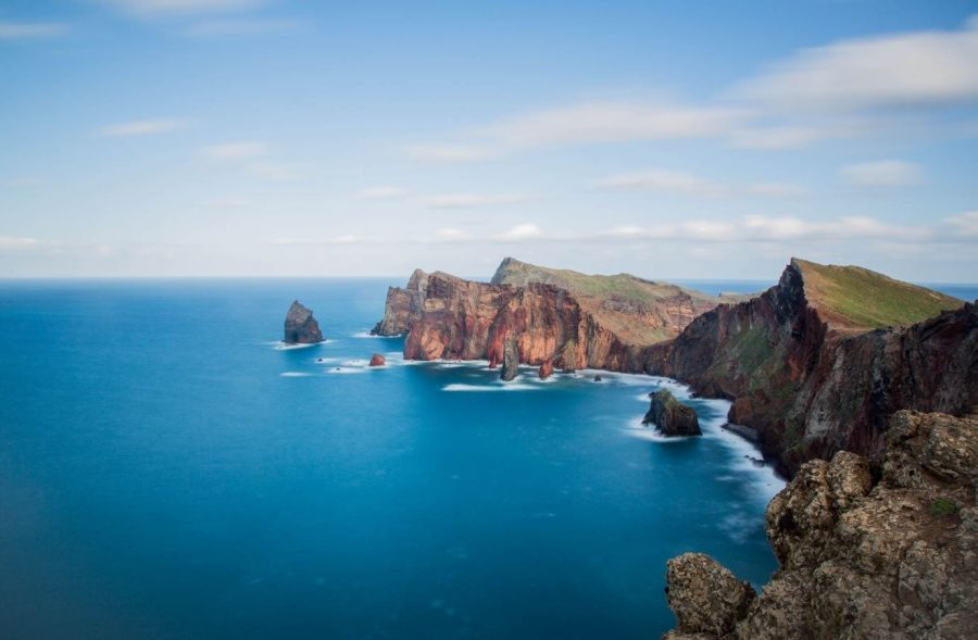 Ponta de Sao Lourenco (Machico) in Madeira, Portugal. Backpacking in Madeira. Madeira on a budget: Hitchhiking in Madeira. Free campings in Madeira #madeira #portugal