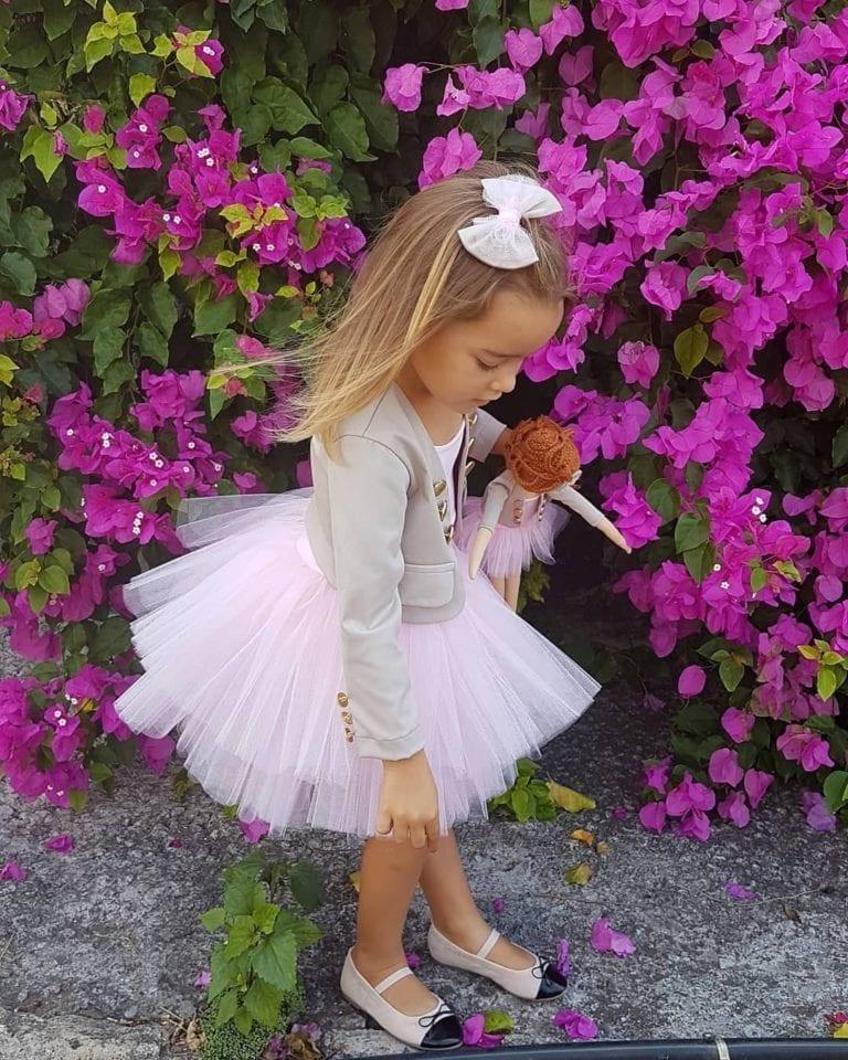 Beautiful dress for a girl | Przepiękna sukienka dla dziewczynki #girldress #flowergirl #handmade