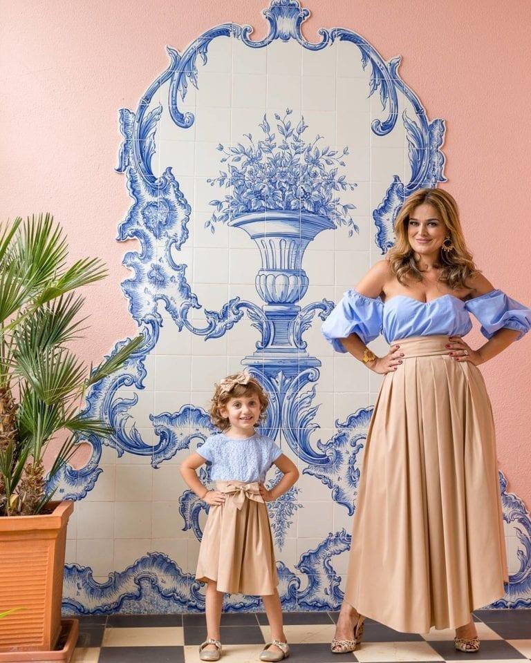 4807da7c81b1ed Sukienki dla mamy i córki - Portugalskie sukienki