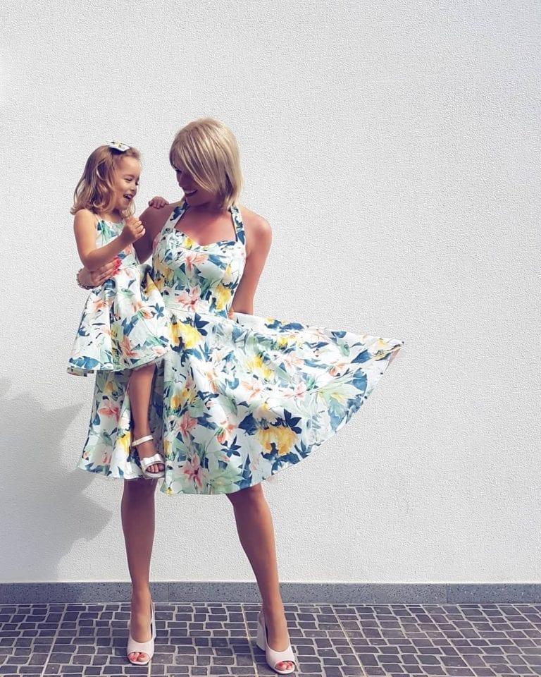 2fb3a7d6a9 Sukienki dla mamy i córki - Portugalskie sukienki Mama - Córka