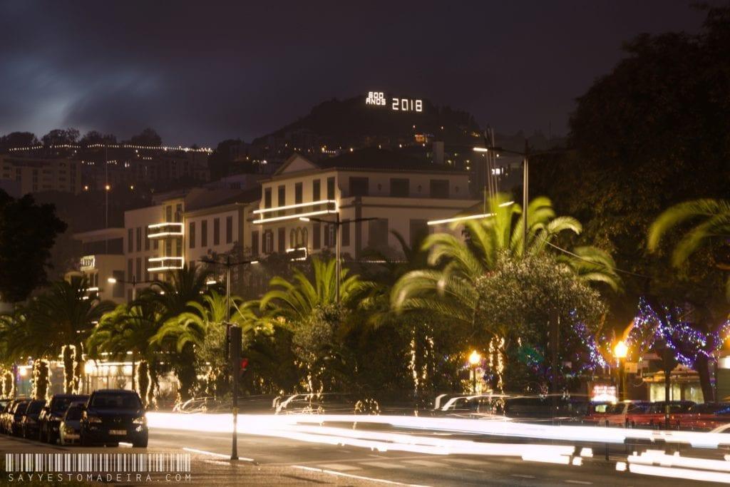 Christmas in Europe - Christmas lights in Funchal, Madeira, Portugal | Co zobaczyć na Maderze w Boże Narodzenie? Funchal nocą