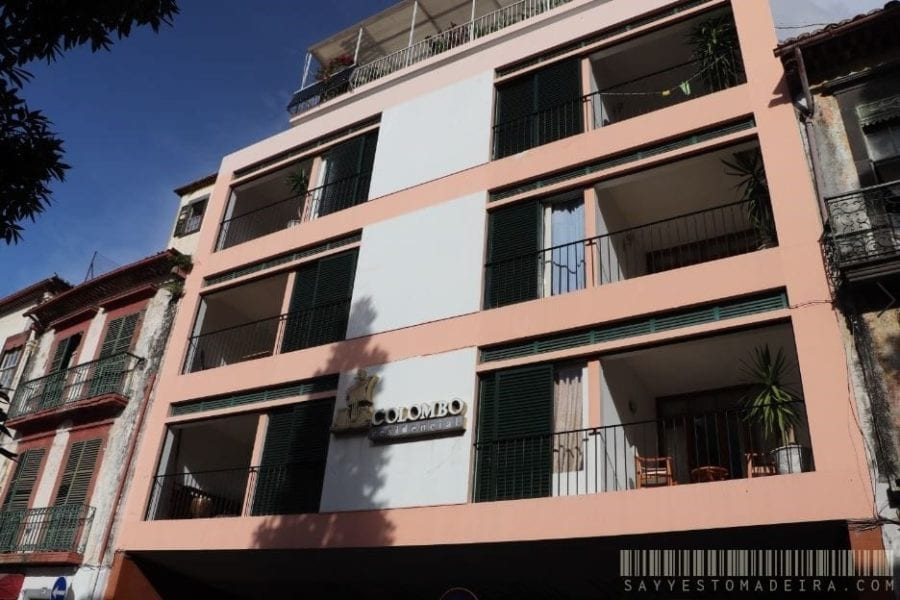 Cheap hotels in Funchal, Madeira, Portugal - Hotel Residencial Colombo    Tanie hotele w Funchal na Maderze - Nocleg w Residencial Colombo
