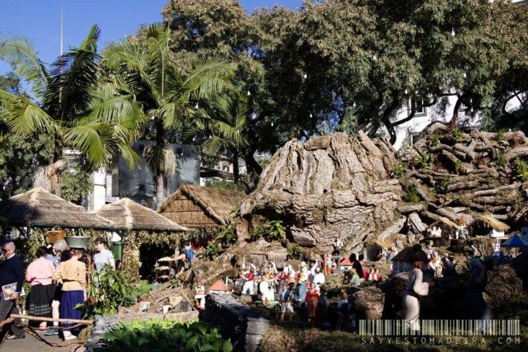 Christmas Nativity Scene in Funchal - Boże Narodzenie na Maderze: Szopka Bożonarodzeniowa - skansen w Funchal na Maderze