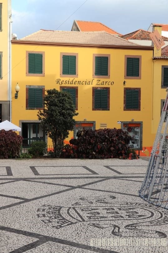 Cheap hotel in the centre of Funchal, Madeira, Portugal - Hotel Residencial Zarco    Tani hotel w centrum Funchal na Maderze - Residencial Zarco