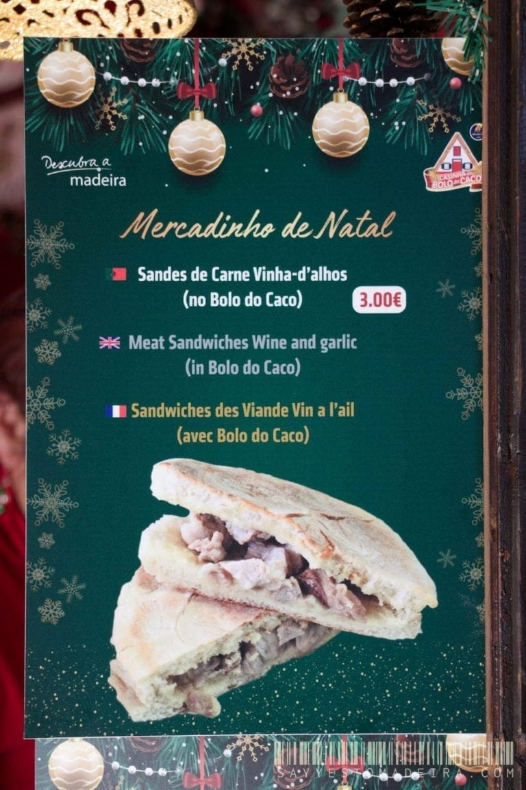 Madeira's cousine: Carne Vinha-d'alhos | Kuchnia Madery - Carne Vinha-d'alhos - czyli bożonarodzeniowe kanapki z mięsem w winie i czosnku