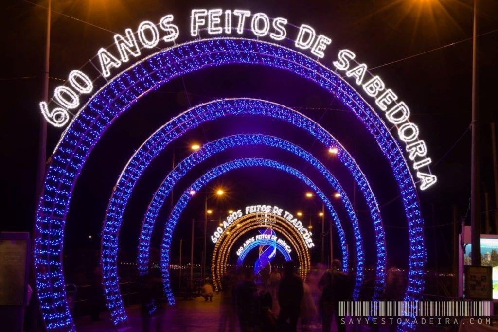 Holidays in Madeira in December? Christmas lights in Funchal, Madeira, Portugal | Wakacje na Maderze w grudniu - ozdoby świąteczne w Funchal