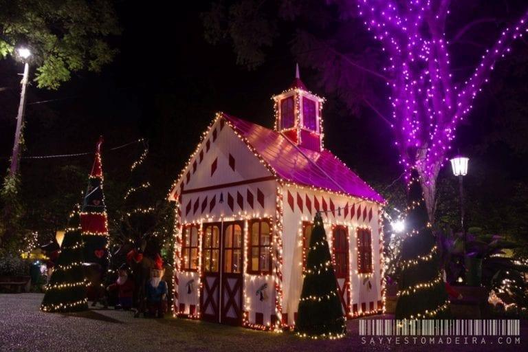 Christmas attractions in Madeira: Santa's Village in Funchal | Świąteczne atrakcje na Maderze: Wioseczka Bożonarodzeniowa w Funchal