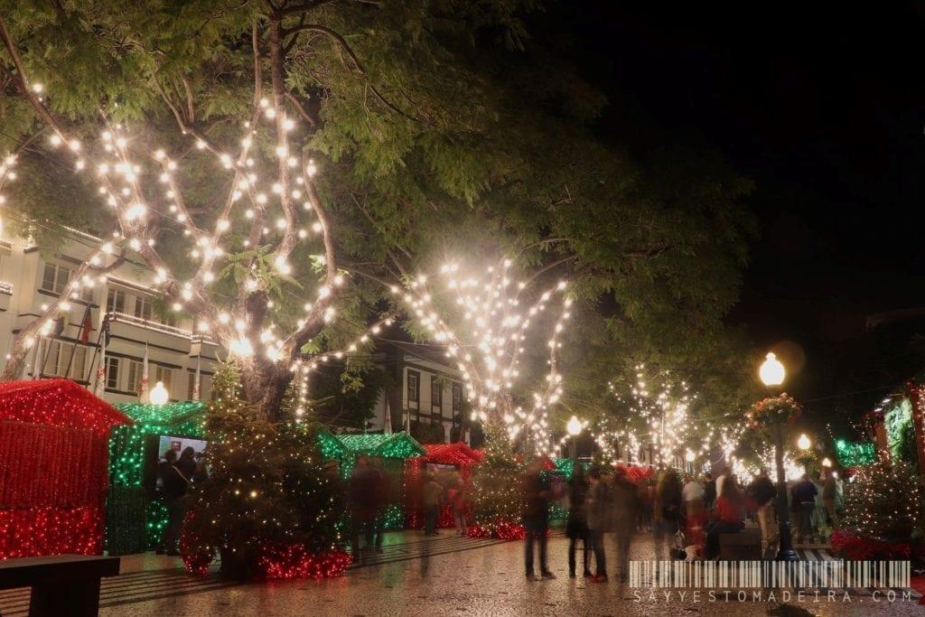 Christmas in Europe - Christmas light in Funchal, Madeira, Portugal | Boże Narodzenie na Maderze, Portugalia