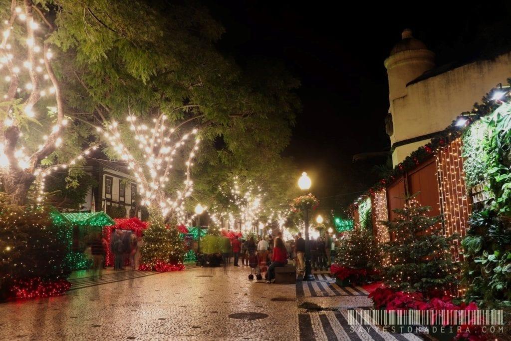 Christmas in Europe - Christmas light in Funchal, Madeira, Portugal | Co zobaczyć na Maderze w Boże Narodzenie?