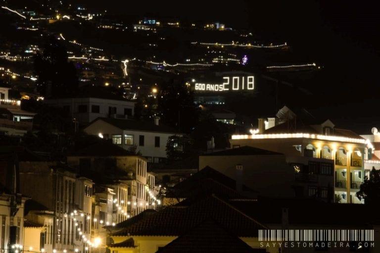 New Year's Eve fireworks in Funchal, Madeira | Pokaz fajerwerków w Sylwestra na Maderze