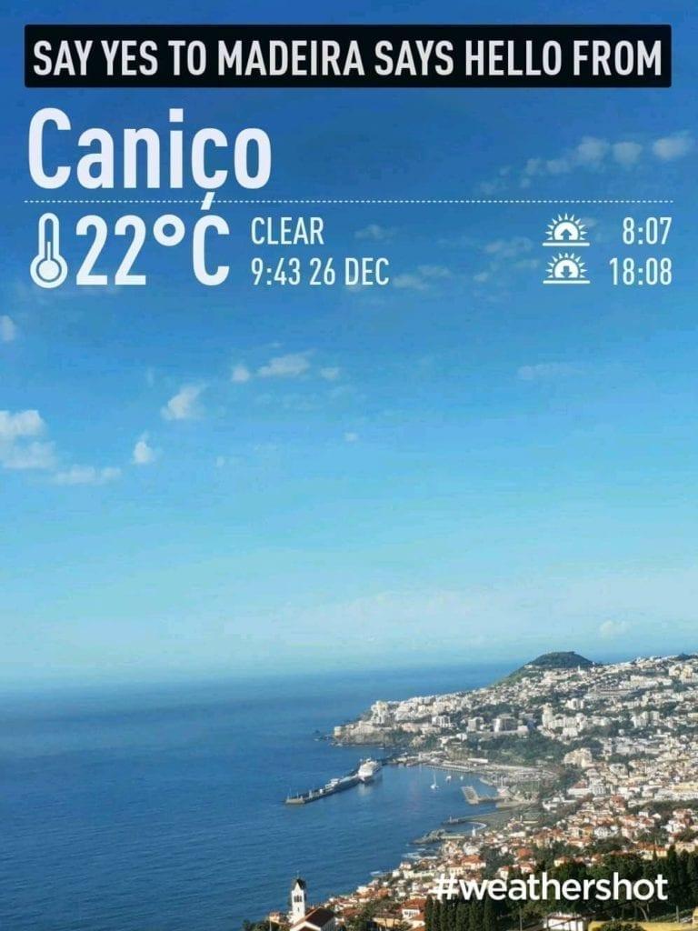 Pleasant weather in Canico, Madeira Island, Portugal in December || Przyjemna pogoda i temperatura w Canico na Maderze w grudniu - czyli gdzie ucieć od zimy w Europie