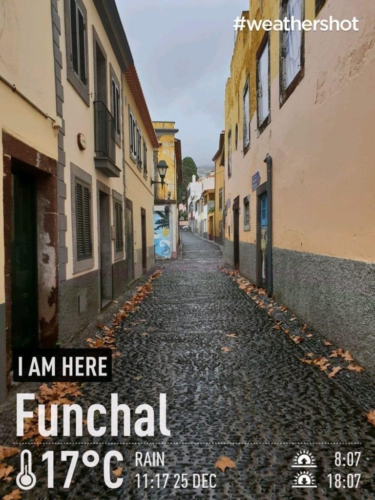 Weather in Funchal, Madeira Island, Portugal in the winter    Pogoda i temperatura w Funchal zimą