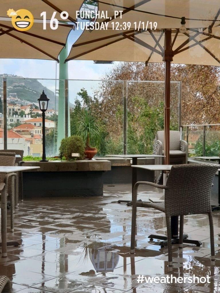 Weather in January in Funchal, Madeira, Portugal || Pogoda w styczniu w Funchal na Maderze w Portugalii. Deszczowa pogoda na Maderze