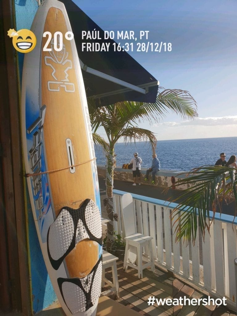 Weather in Paul do Mar in Madeira in December || Pogoda w Paul do Mar na Maderze w grudniu