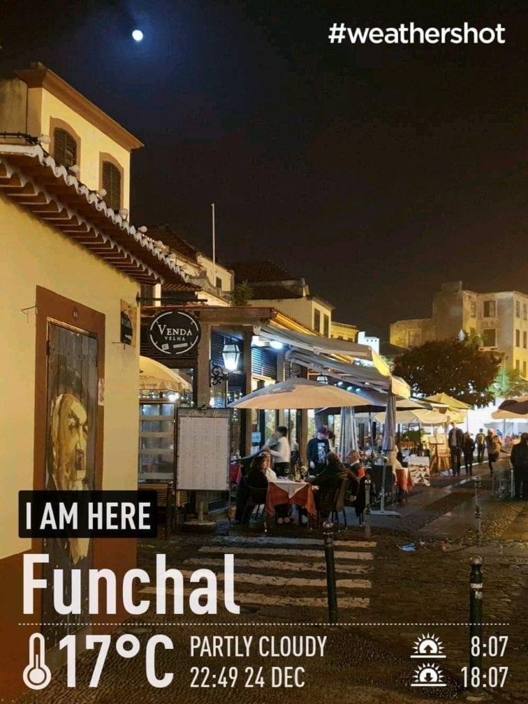 Weather in Funchal, Madeira Island, Portugal in December    Pogoda i temperatura w Funchal na Maderze w grudniu - raport pogodowy