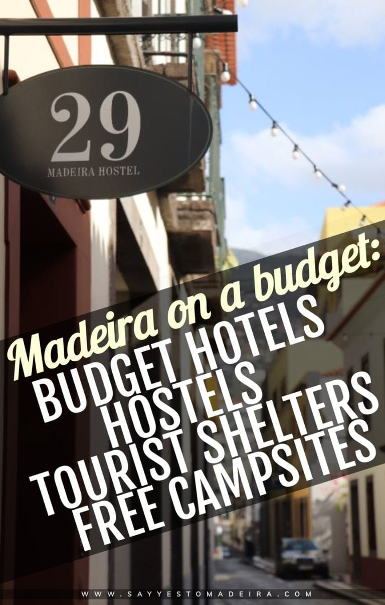 Budget hotels and hostels in Madeira Island. Tourist shelters and free campsites in Madeira Island - Madeira on a budget.