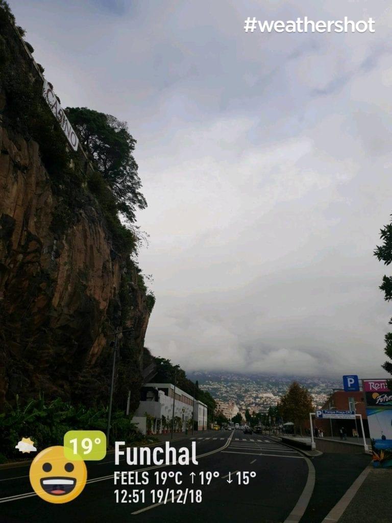 Pogoda na Maderze w grudniu- pogoda w Funchal