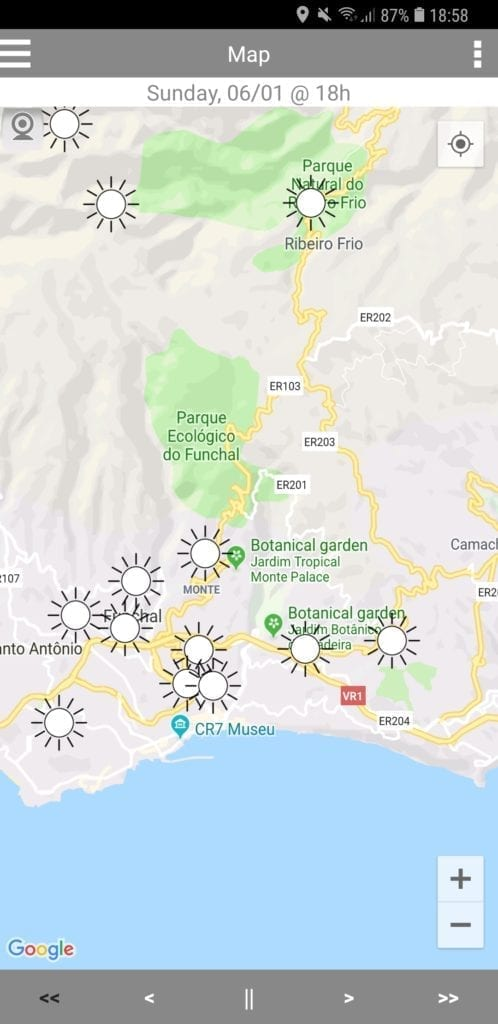 Weather in Madeira - Madeira Island climate, weather, weather cams